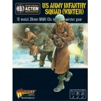 US Army Infantry Squad in Winter Clothing
